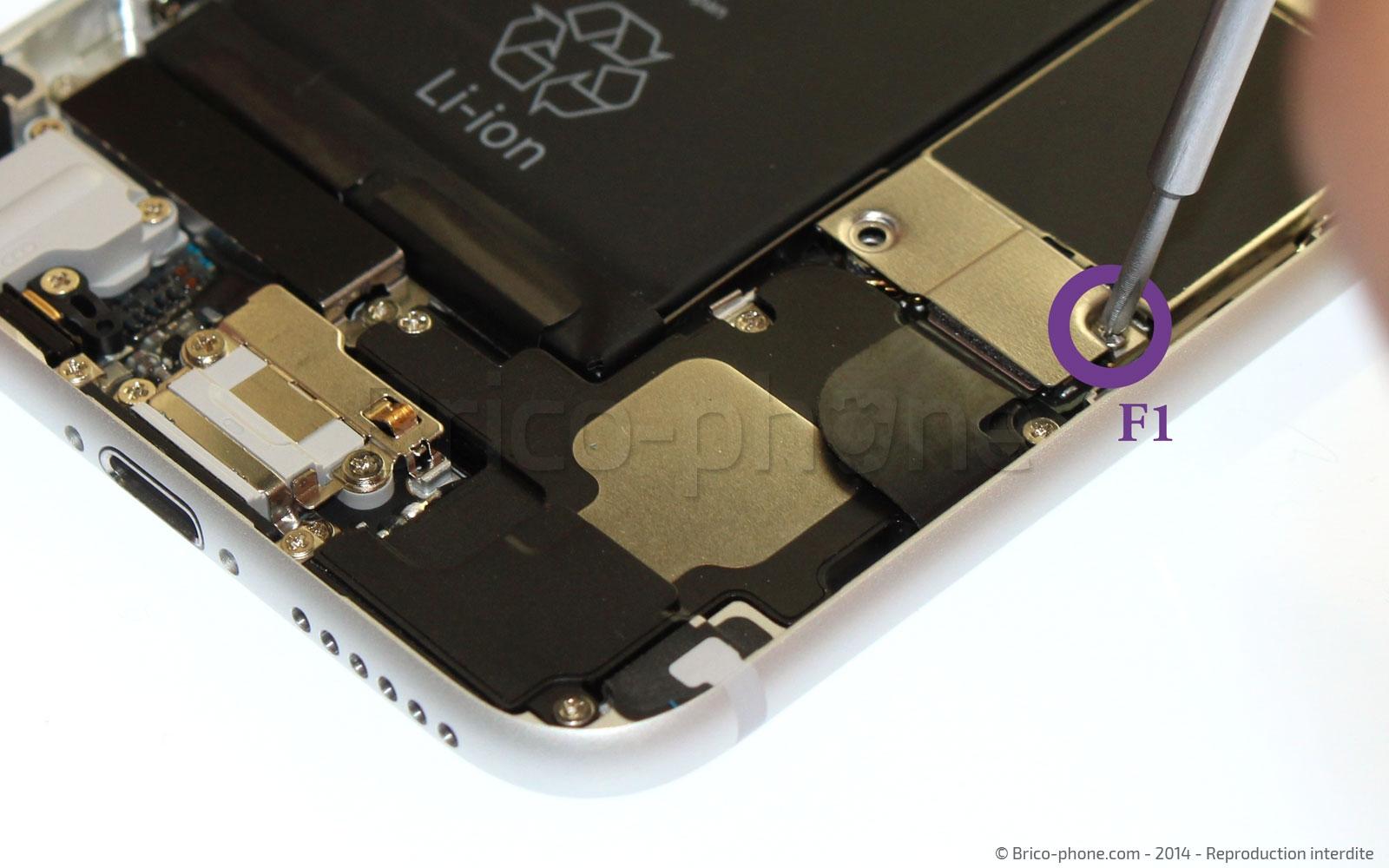 Etape 8 : Déconnecter la batterie