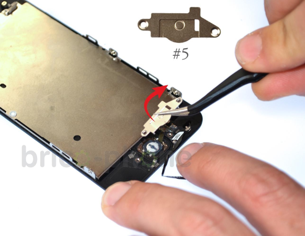 Etape 9 : Récupérer la nappe du bouton Home