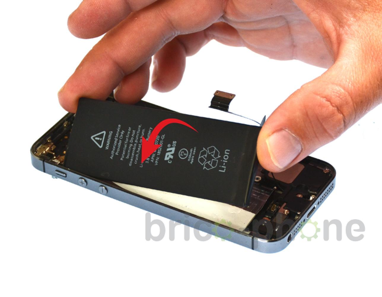 Etape 8 : Retirer la batterie