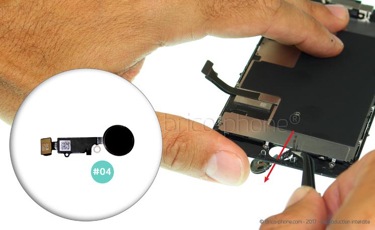 Etape 14 : Retirer le bouton Home