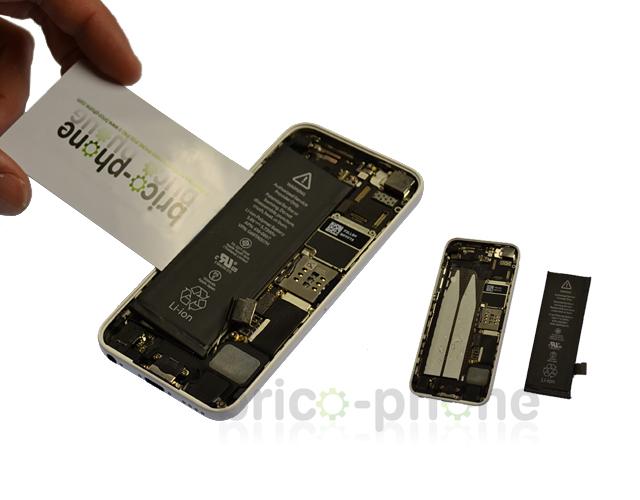 Etape 3d : Retirer la batterie