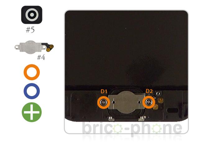 Etape 3 : Changer la nappe du bouton Home