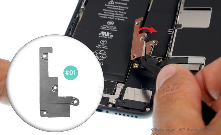 Etape 7 : Retirer la plaquette de protection des nappes de l'écran