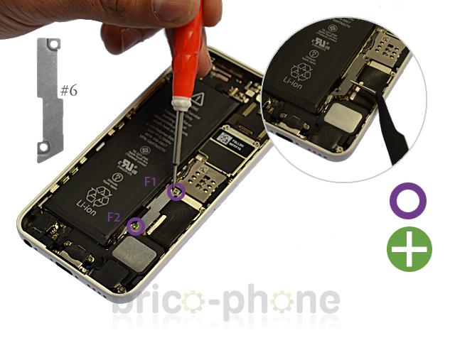 Etape 3a : Déconnecter la batterie