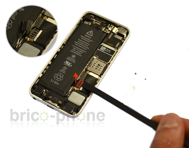 Etape 3b : Déconnecter la batterie