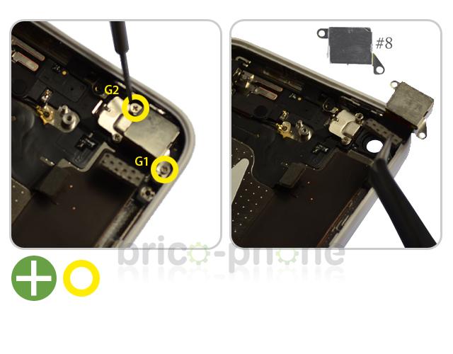 Etape 3 : Retirer la caméra arrière